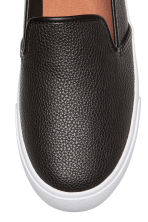 Slip-on trainers - Black - Ladies | H&M IE 3